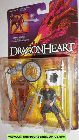 Dragonheart BOWEN brave knight kenner 1995 movie action figures moc
