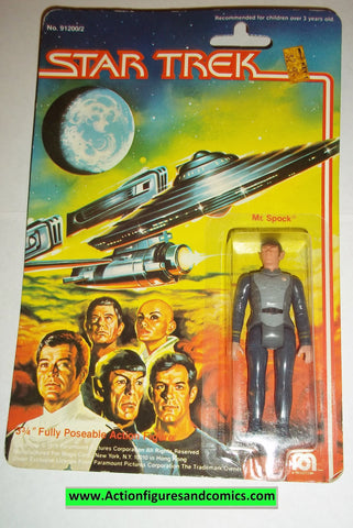 Star Trek MR SPOCK 1979 mego vintage action figures moc mip mib