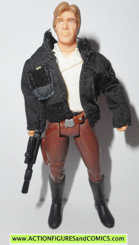 star wars action figures HAN SOLO BESPIN cloth jacket princess collection potf
