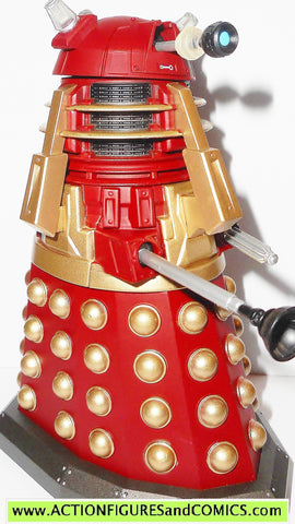 doctor who action figures DALEK red gold supreme magicians apprentice