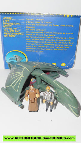 Star Trek ROMULAN WARBIRD mini playset INNERSPACE playmates