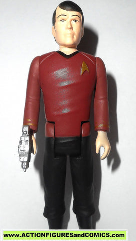Reaction figures Star trek SCOTTY Montgomery Scott funko toys action 100%