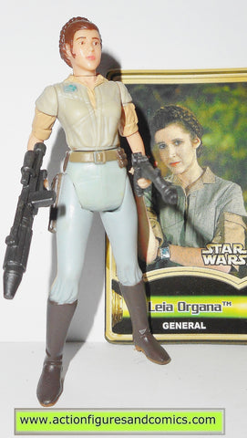 star wars action figures PRINCESS LEIA ORGANA general endor power of the jedi potj