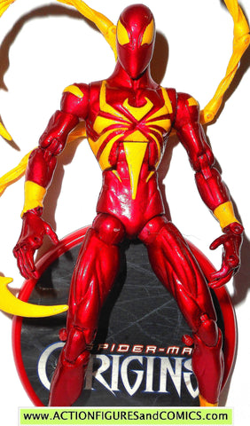 marvel legends IRON SPIDER man classics origins 2006 toy biz marvel