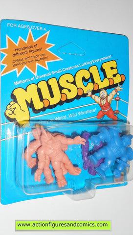 Muscle m.u.s.c.l.e men kinnikuman 4 pack moc Flesh color mattel action figures