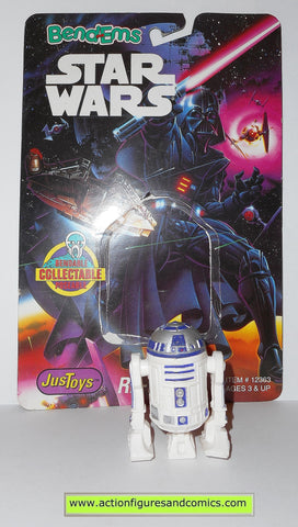 star wars action figures bend-ems R2-D2 1993 1st release moc mip mib
