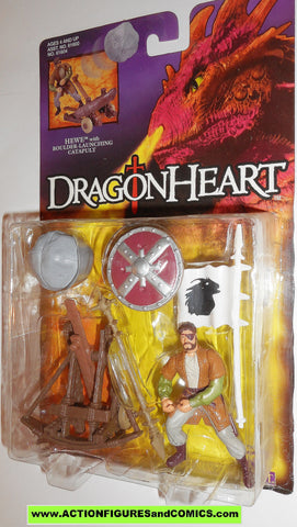 Dragonheart HEWE boulder catapult kenner 1995 movie action figures moc