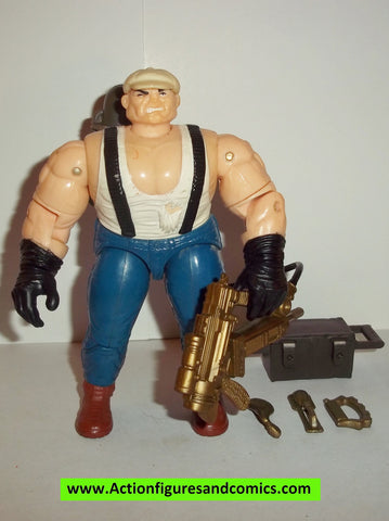 Cops 'n Crooks LOUIE the PLUMBER 1988 vintage complete 1989 hasbro c.o.p.s #4247