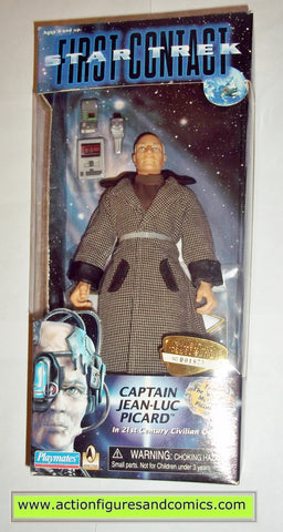 Star Trek CAPTAIN PICARD FIRST CONTACT 9 inch playmates toys action figures moc mip mib
