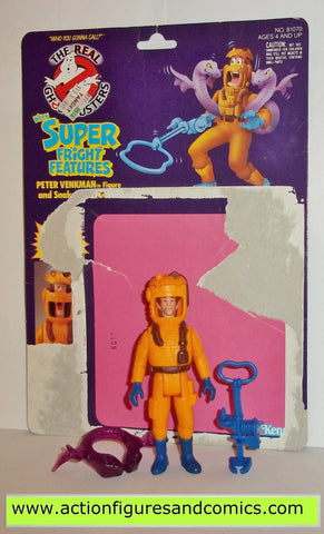 ghostbusters PETER VENKMAN super fright features 1986 the real kenner complete full card