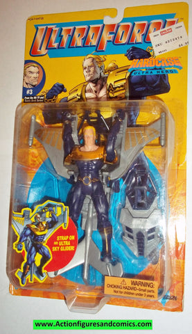 Ultraforce HARDCASE 1995 #3 galoob action figures moc mib mip