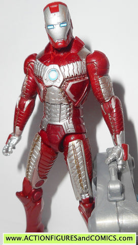 marvel universe IRON MAN suitcase armor mark 5 V 2 movie fig