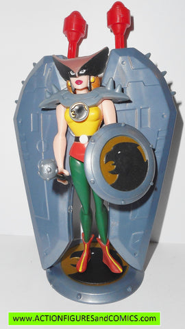 justice league unlimited HAWKGIRL Silver storm dc universe