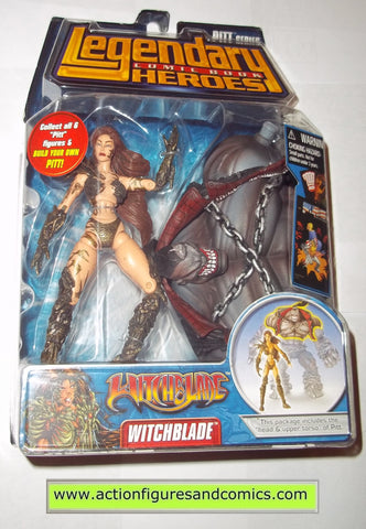 Legendary Comic Book Heroes WITCHBLADE pitt Marvel Legends toy biz mib moc mip action figures