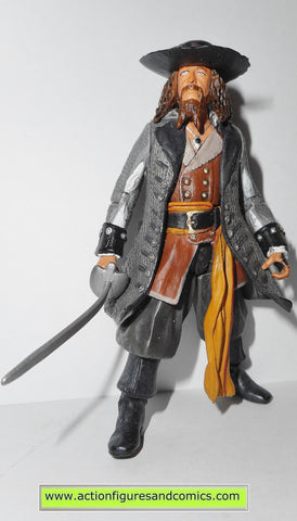 Pirates of the Caribbean BARBOSSA 3.75 inch 2007 zizzle toys action figures