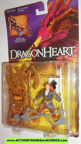 Dragonheart KARA combat cart kenner 1995 movie action figures moc