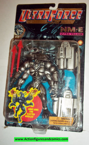 Ultraforce NM-E 1995 chase black chrome card #10 galoob action figures moc mib mip