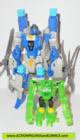 transformers powercore combiners SEARCHLIGHT BACKWIND 2009 hasbro