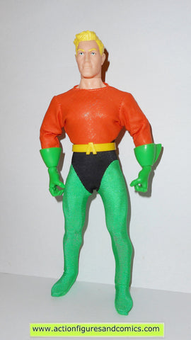 dc universe super heroes AQUAMAN Silver age 9 inch hasbro toys action figures retro mego