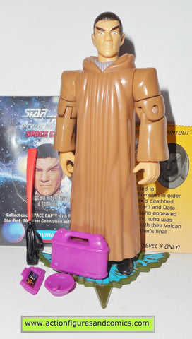Star Trek CAPTAIN PICARD ROMULAN playmates toys action figures TNG