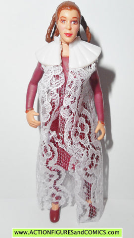 star wars action figures PRINCESS LEIA BESPIN Cloth gown collection potf