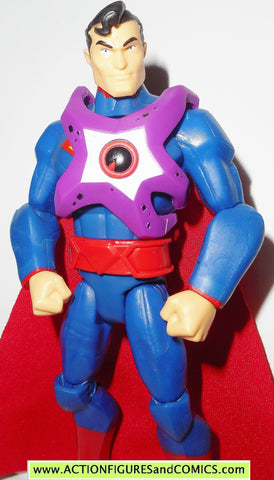 DC universe total heroes SUPERMAN STARRO kmart 2013 6 inch action figures