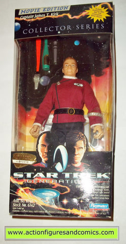 Star Trek CAPTAIN JAMES T KIRK generations movie 9 inch playmates toys action figures moc mip mib