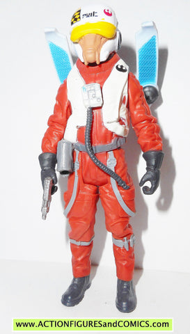 star wars action figures ASTY X-WING pilot force awakens 2015
