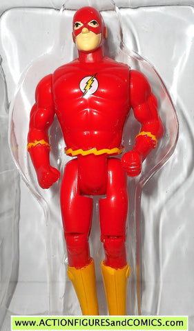 DC comics Super Heroes FLASH 1990 toy biz toybiz universe action figure tray