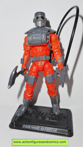 gi joe BARBECUE 2008 v4 25th anniversary gijoe action figures nofc