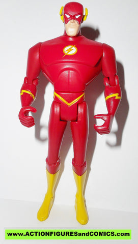 justice league unlimited FLASH added articulation wally west dc universe