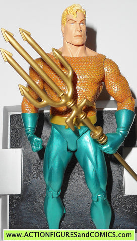 dc direct AQUAMAN Justice league alex ross collectibles