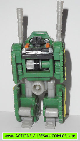 Transformers armada DUALOR TANK road wrecker green minicons