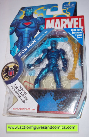 marvel universe hasbro iron man blue stealth ops series 1 hasbro legends