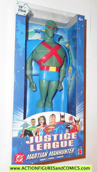 Justice League Unlimited Martian Manhunter 10 Inch 2003 Dc