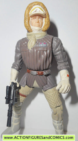 star wars action figures HAN SOLO hoth TAUN TAUN rider power of the force 1998