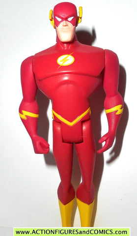 justice league unlimited FLASH wally west VERSION 1 dc universe animated dcau