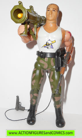 RAMBO action figures SARGEANT HAVOC sgt 1986 coleco vintage force of freedom
