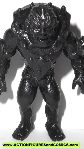 Masters of the Universe BEAST MAN beastman Motuscle muscle he-man BLACK