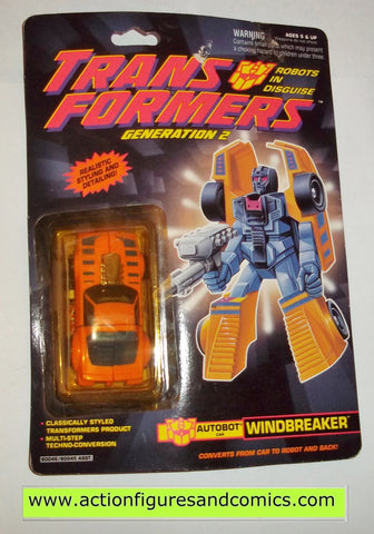 Transformers generation 2 WINDBREAKER G2 1991 moc mip mib