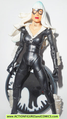 marvel legends BLACK CAT spider-man toy biz sinister six complete
