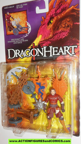 Dragonheart FELTON kenner 1995 movie dragon heart action figures moc