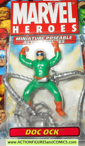 Marvel Heroes DOC OCK dr octopus 2.5 inch miniature poseable action figures 2005 SPIDER-MAN moc