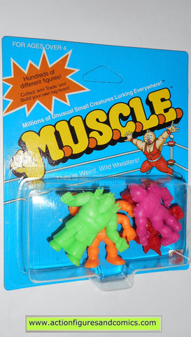 Muscle m.u.s.c.l.e men kinnikuman 4 pack moc CLASS B color mattel action figures