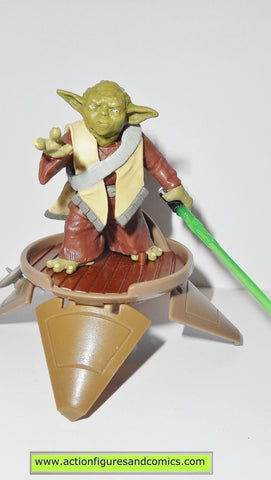star wars action figures YODA 2003 clone wars hasbro toys action figures