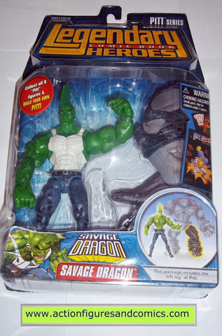 Legendary Comic Book Heroes SAVAGE DRAGON pitt Marvel Legends toy biz mib moc mip action figures
