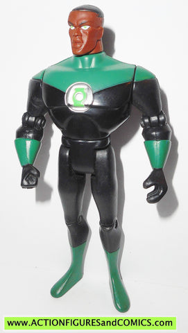 justice league unlimited GREEN LANTERN John Stewart HAIR full articulation