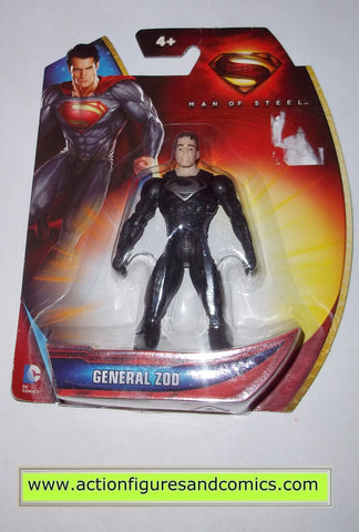 Superman man of steel movie GENERAL ZOD infinite heroes crisis mattel toys action figures moc mip mib