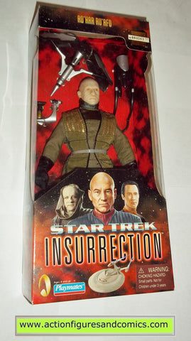 Star Trek AD'HAR RU'AFO insurrection movie 9 inch playmates toys action figures moc mip mib