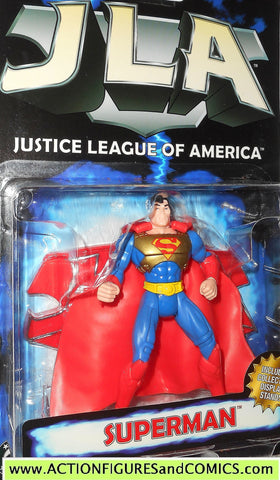 Total Justice JLA SUPERMAN kryptonian gold armor 1999 justice league america dc moc